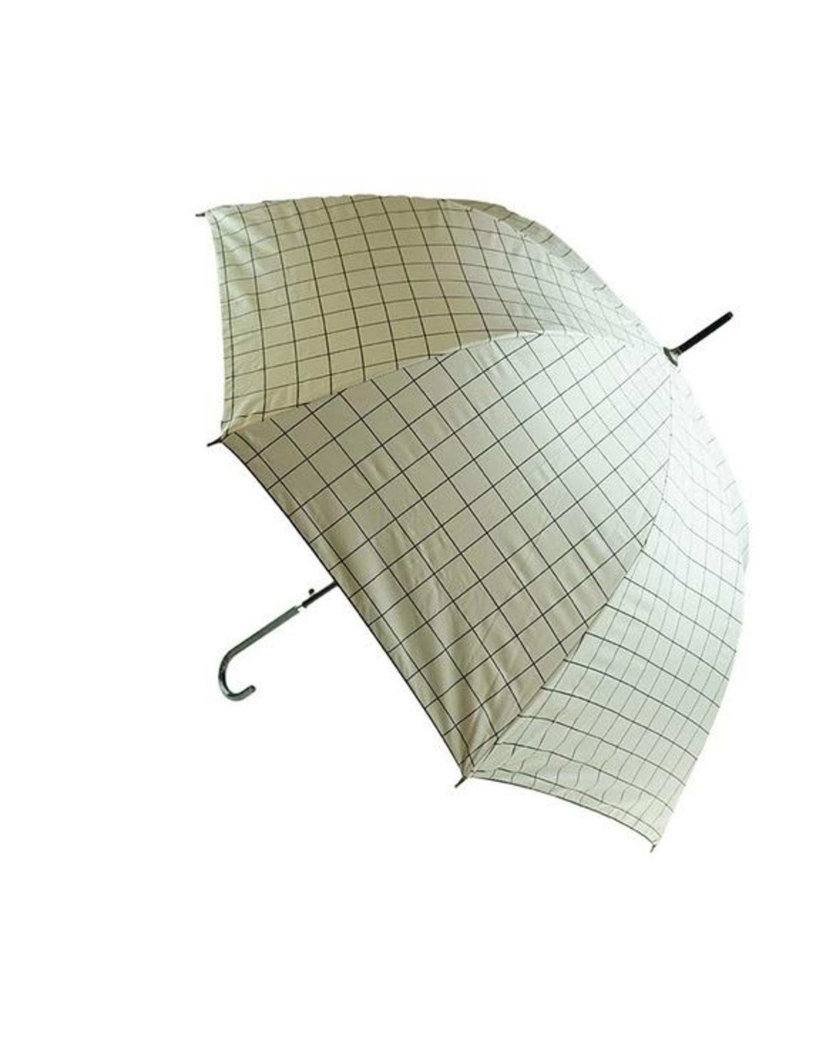Large Check Mary Poppins Umbrella