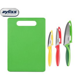 Zyliss Zyliss 4pc Chopping Board and Knife Set
