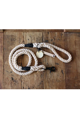 Ted & Patrick Burleigh Dog Lead with Brass Fittings