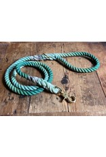 Ted & Patrick Bicheno Dog Lead with Brass Fittings