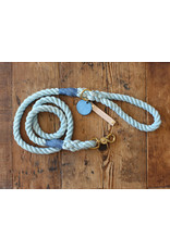 Ted & Patrick Beach Days Dog Lead with Brass Fittings