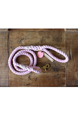 Ted & Patrick Lil Miss Dog Lead with Brass Fittings