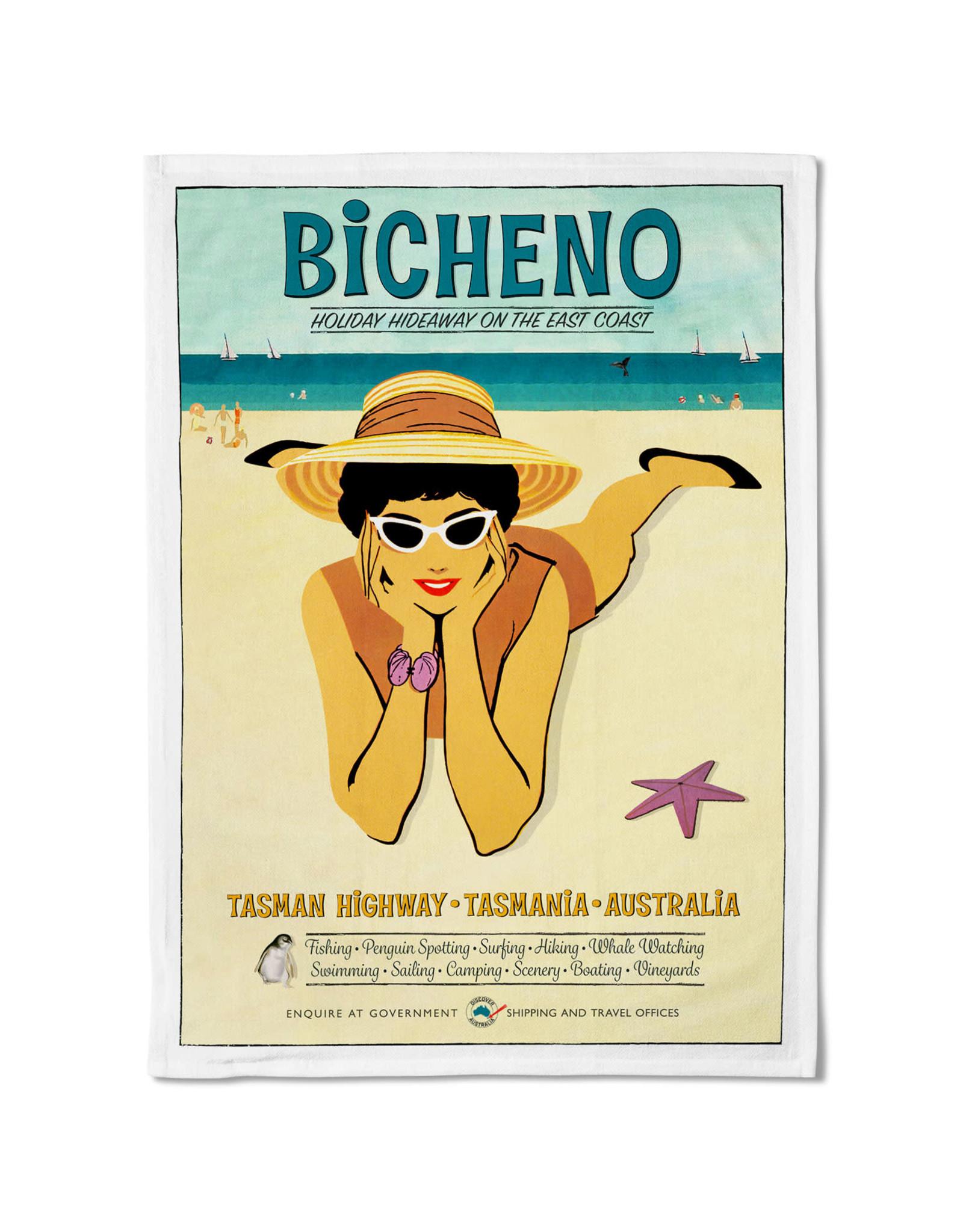 Bicheno Tea Towel