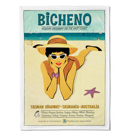 Bicheno Tea Towel