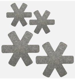 Avanti Avanti Pan Protector Grey - Set of 4