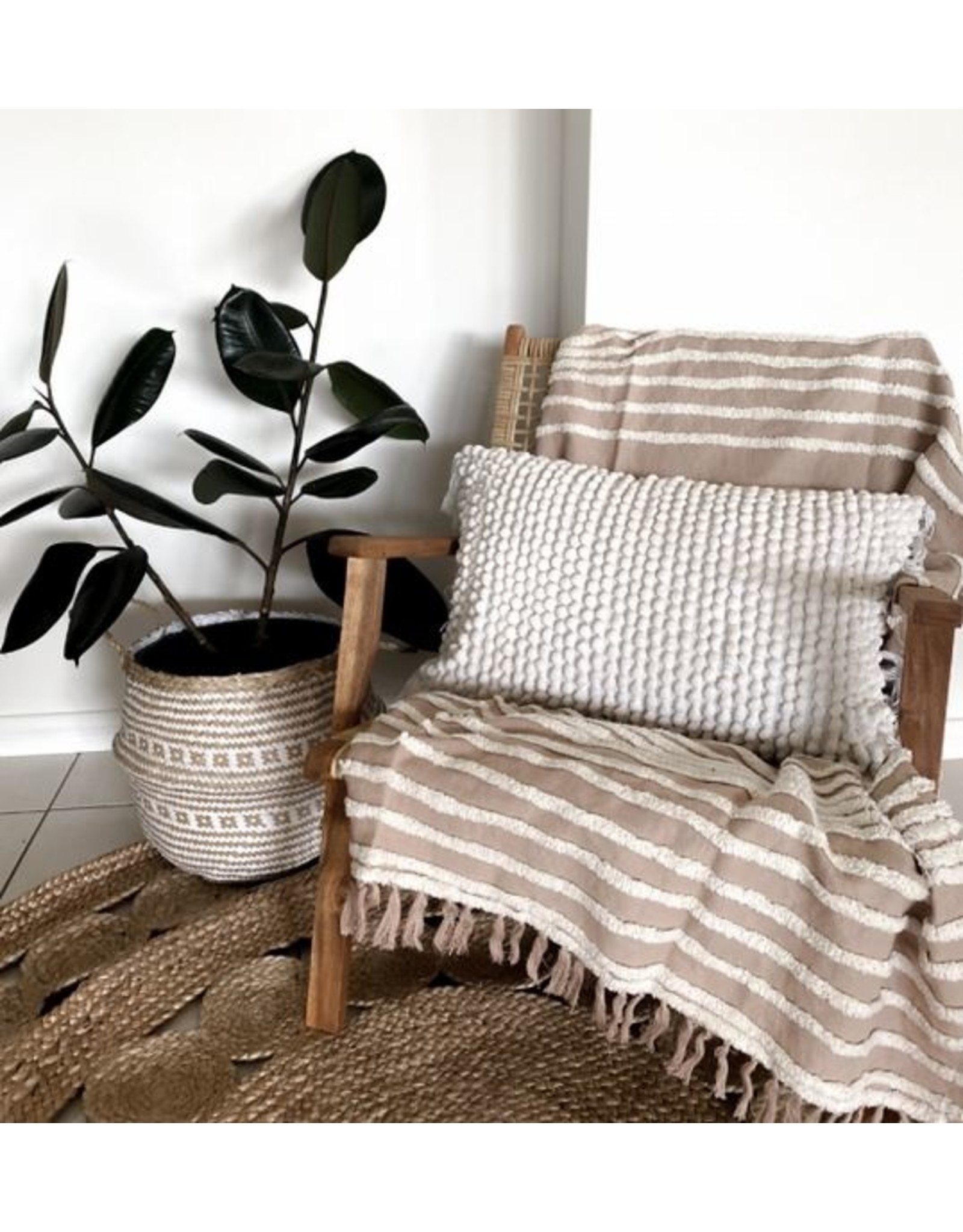 Grand Designs Vargas Linen & Cotton Throw