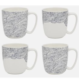 Ecology Adriatic Set 4 Mugs 300ml
