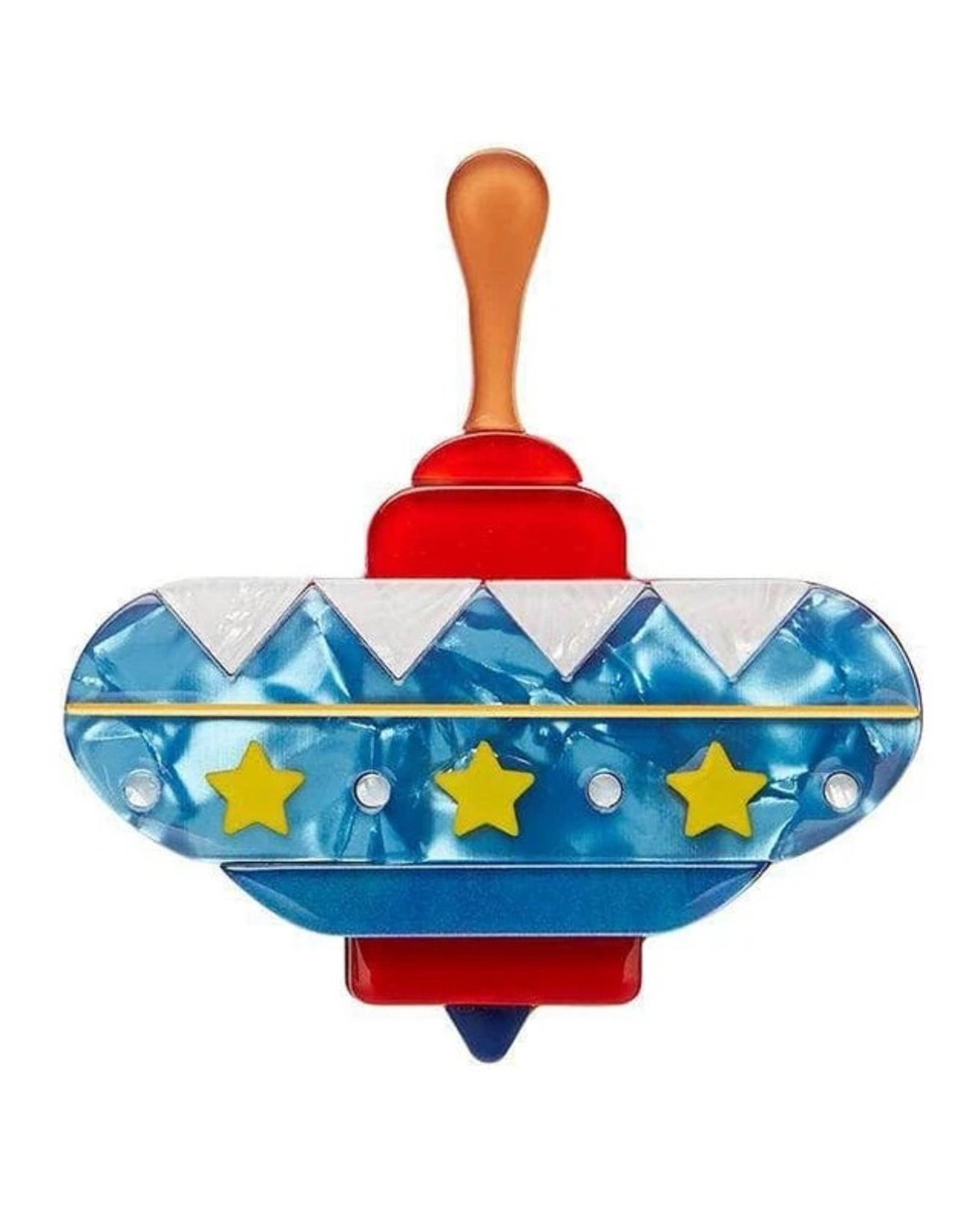 Erstwilder Spinning Around Toy Brooch