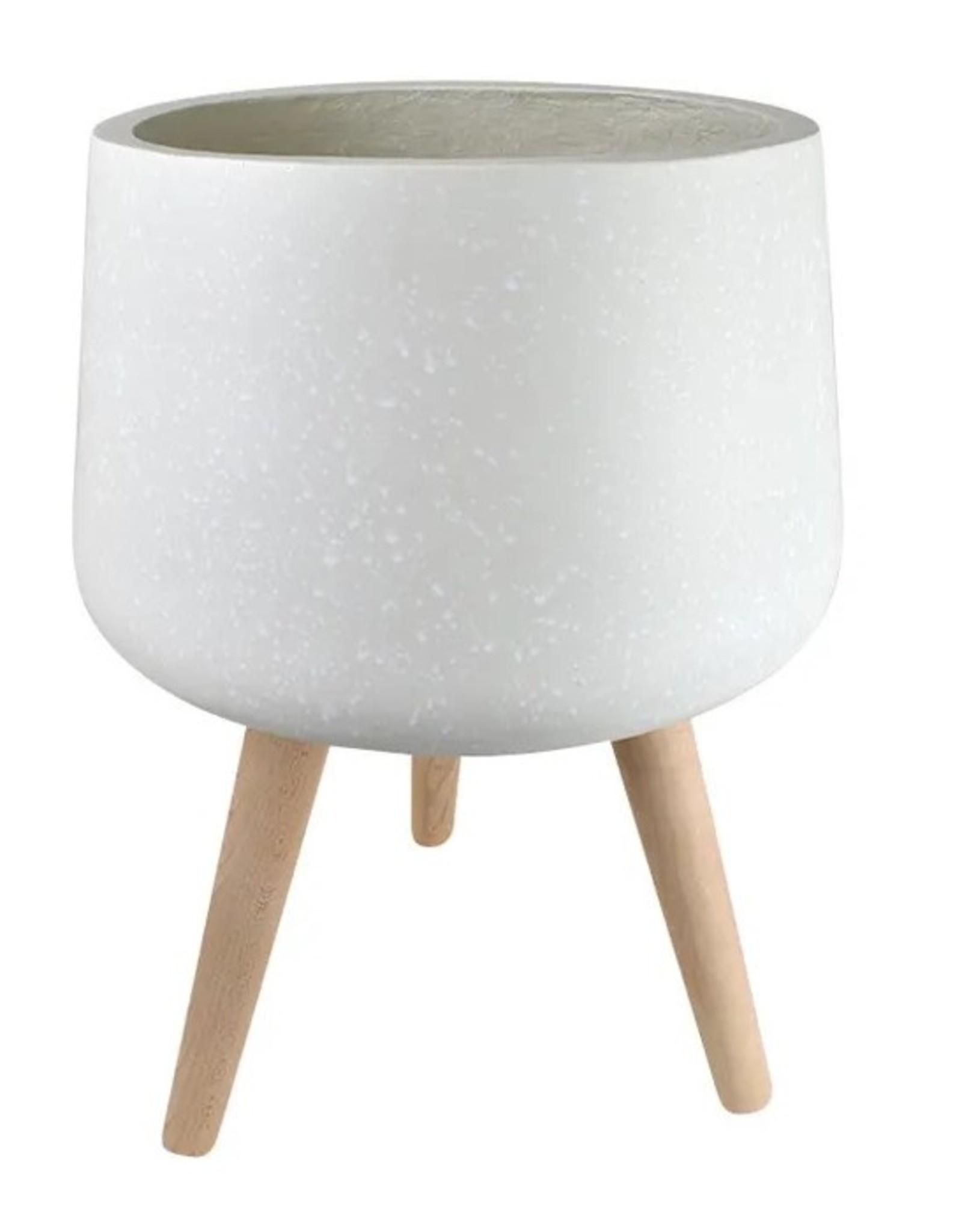 Casa Regalo Cloud Polyresin Composite Pots with Legs