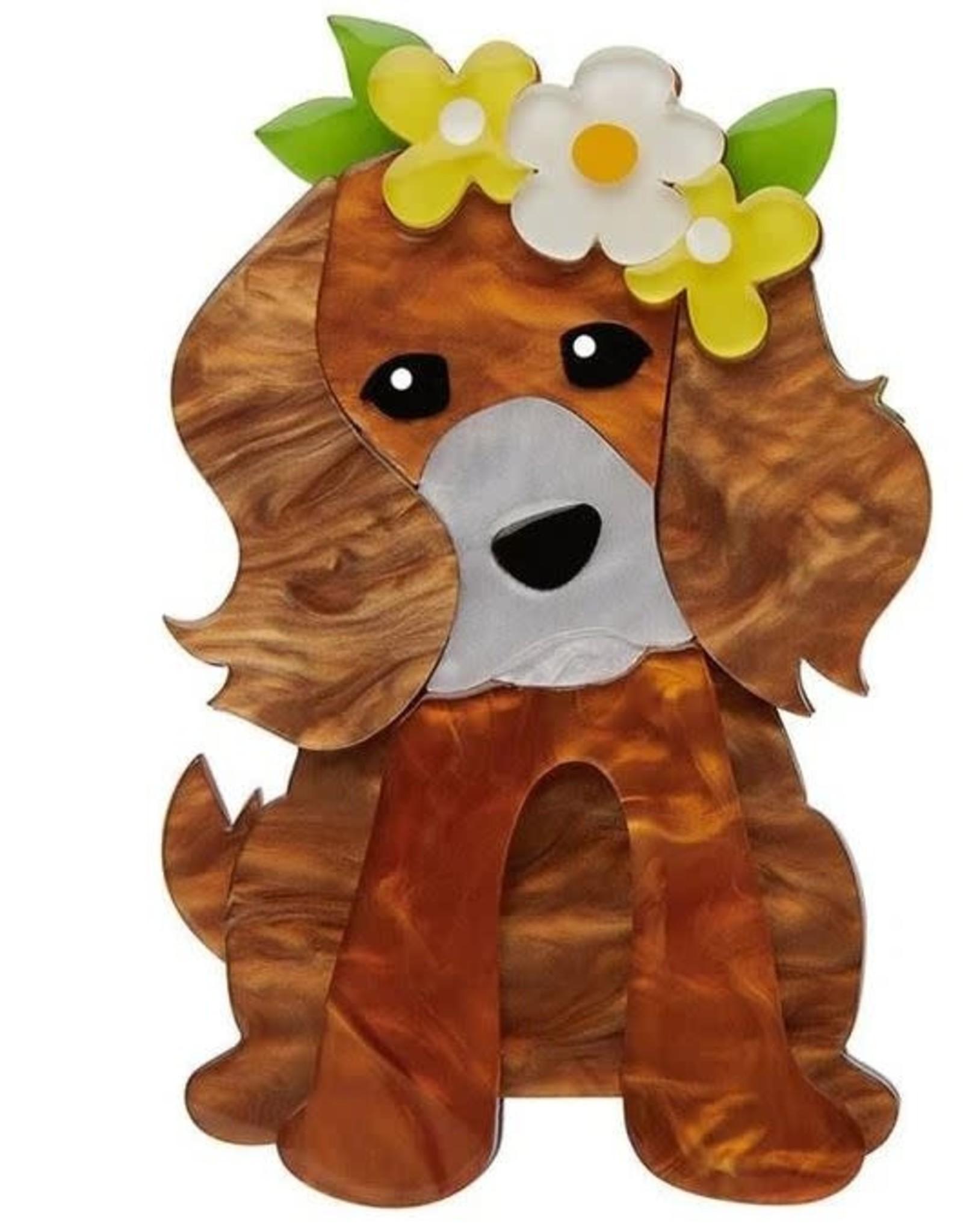 Erstwilder Puppy Love Brooch