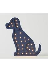 Pilbeam Living Wooden Light Puppy
