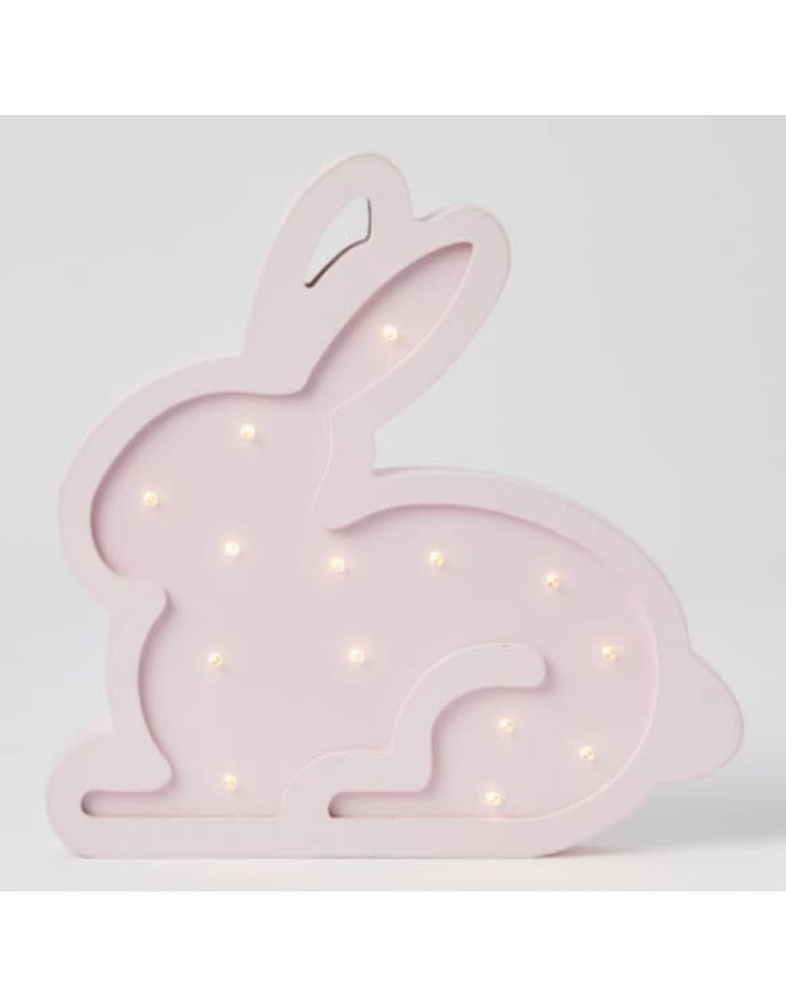 Pilbeam Living Wooden Light Bunny