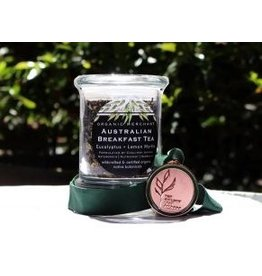 Organic Merchant Australian Breakfast Tea Glass Jar 80gr