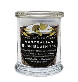 Organic Merchant Bush Blush Tea Glass Jar 80gr