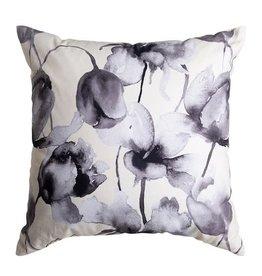 Freya Cushion Ivory/Black