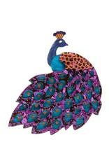 Erstwilder Le Peacock Royal Brooch