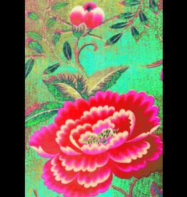 Anna Chandler Design Tea Towel – Chinese Peony