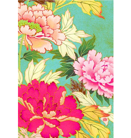 Anna Chandler Design Tea Towel – Kimono Flowers