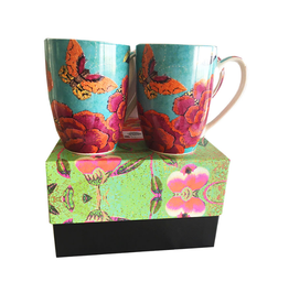 Anna Chandler Design Mug Set – Big Peony