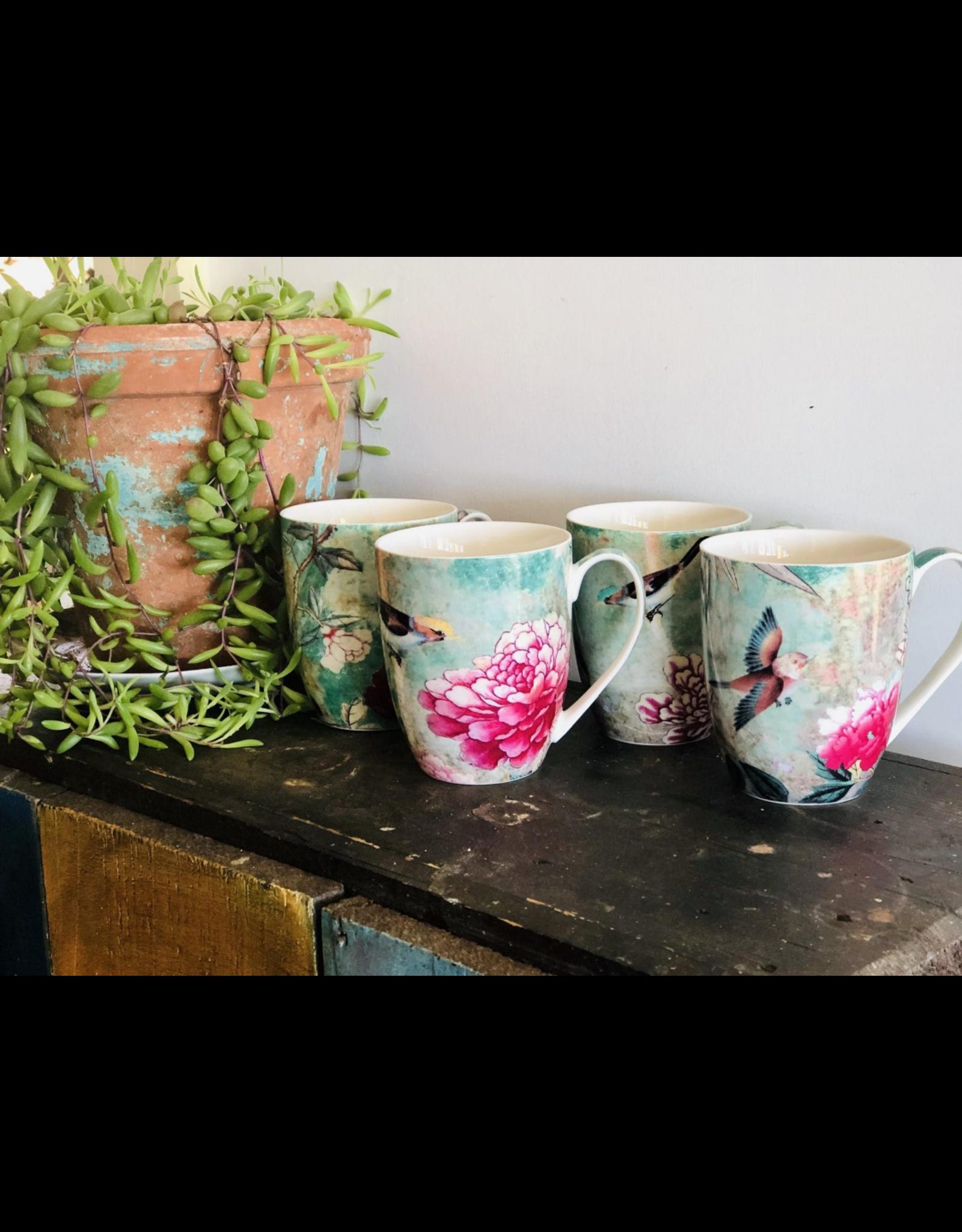 Anna Chandler Design Mug Set – Chinoiserie