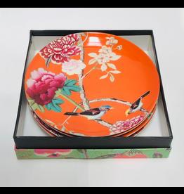Anna Chandler Design Dessert Plate Set – Tangerine