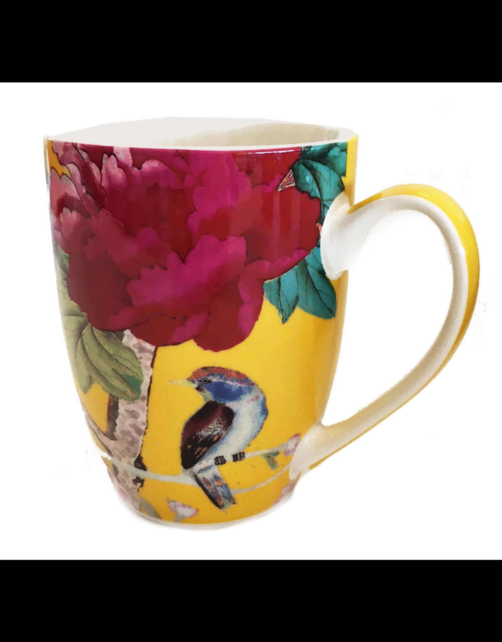 Anna Chandler Design Mug Set – Saffron Yellow