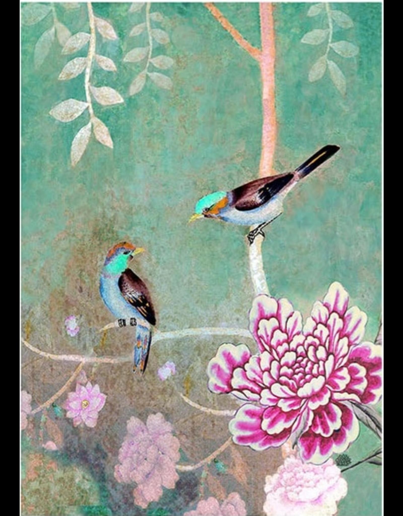 Anna Chandler Design Tea Towel – Chinoiserie