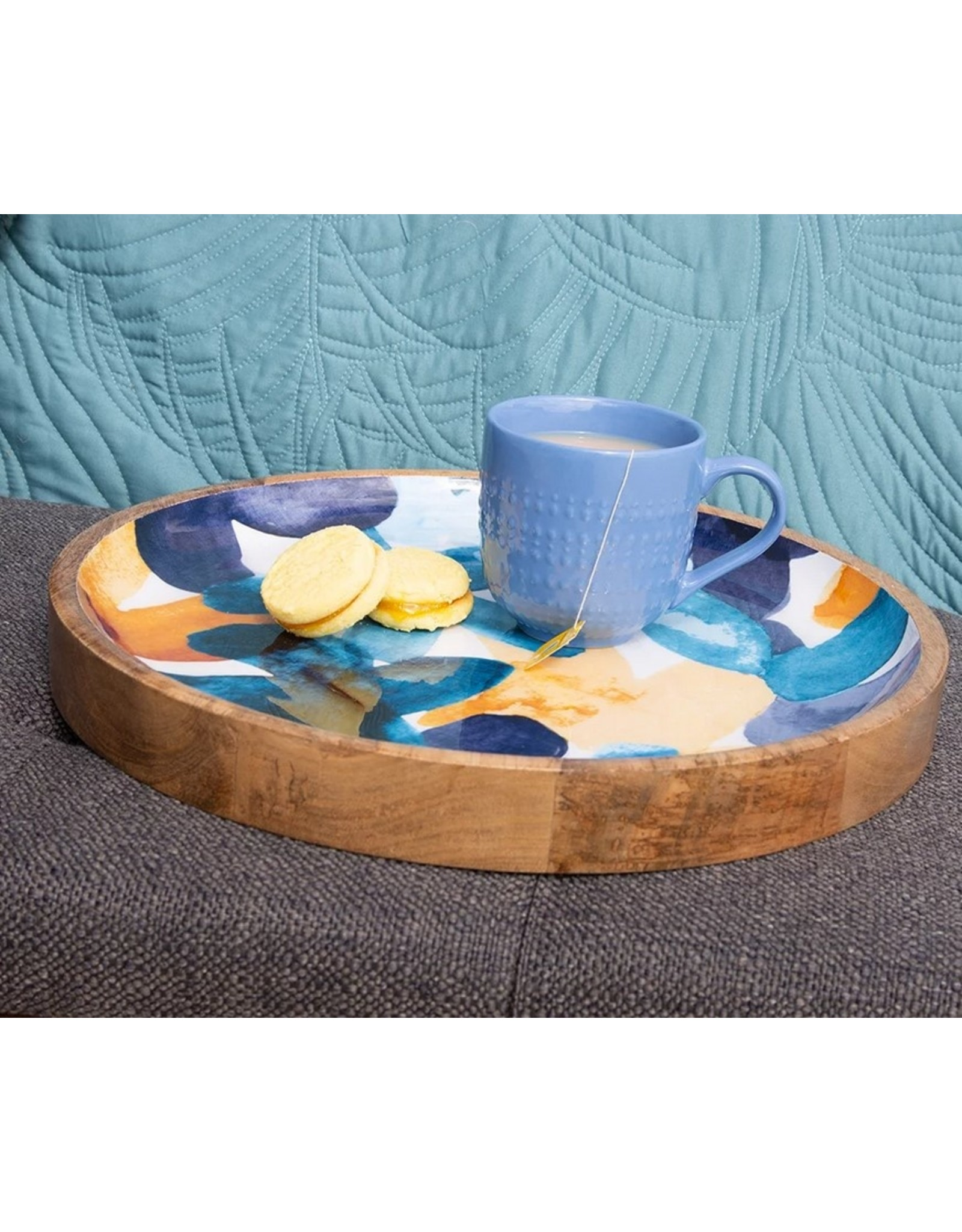 Bloom Wooden Tray