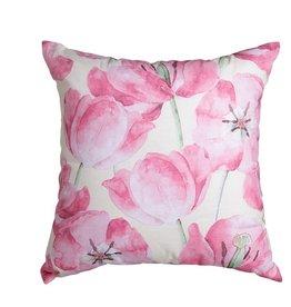 Kalina Cushion Pink & Ivory
