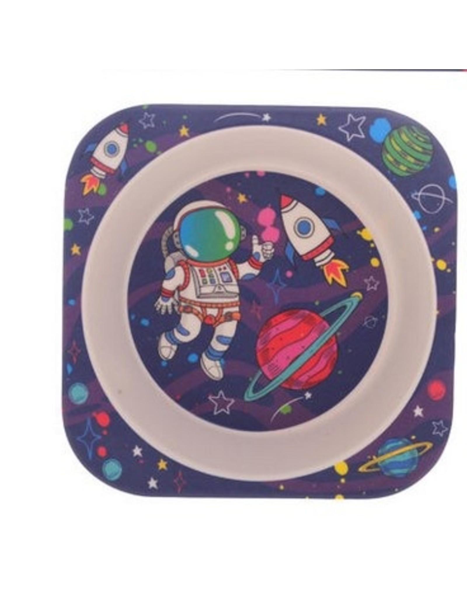 Spaceman 5 Piece Bamboo Dining Set