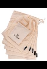 Karistert Muslin Produce Bags Set of 5