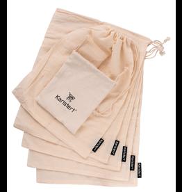 Karlstert Muslin Produce Bags Set of 5