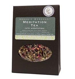 Organic Merchant Meditation Tea - Sachet Box