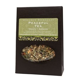 Organic Merchant Peaceful Tea - Sachet Box
