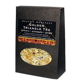 Organic Merchant Golden Triangle Tea - Sachet Box