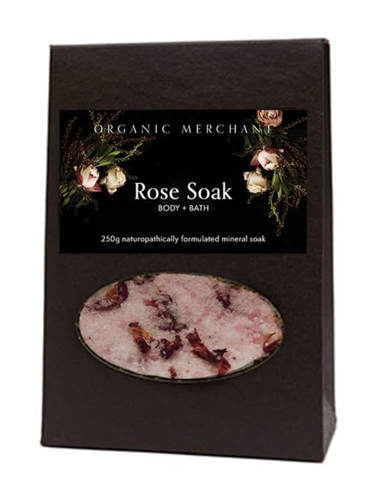 Organic Merchant Rose Body & Bath Soak