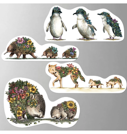 Magnet Set - Australian Families - Wombat Set