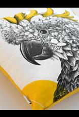 Cushion Cover - Sulphur-Crested Cockatoo