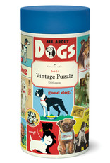Cavallini Cavallini 1000 Pc Puzzle – Vintage Dog