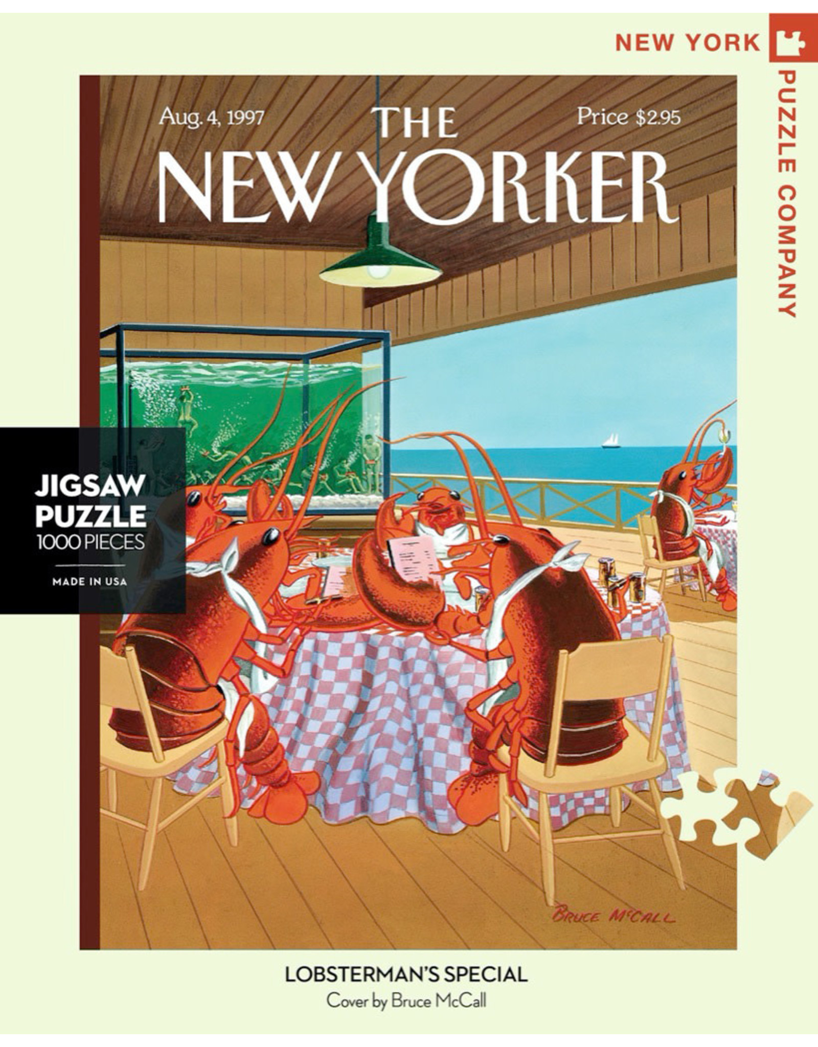 The New Yorker NYPC 1000 Pc Puzzle – Lobstermans Special