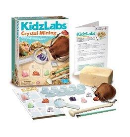 KidzLabs 4M - KidzLabs - Crystal Mining