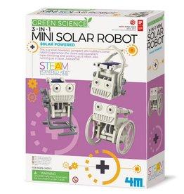4M - Eco Engineering - 3 in 1 Mini Solar Robot