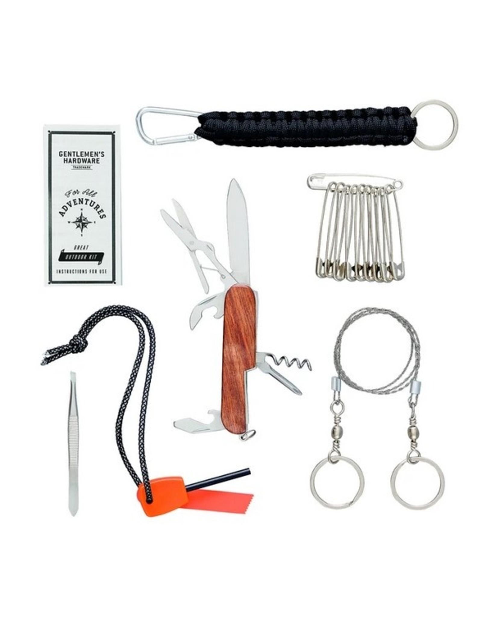 Gentlemen's Hardware Great Outdoors Survival Kit