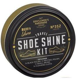 Gentlemen's Hardware Travel Shoe Shine Tin