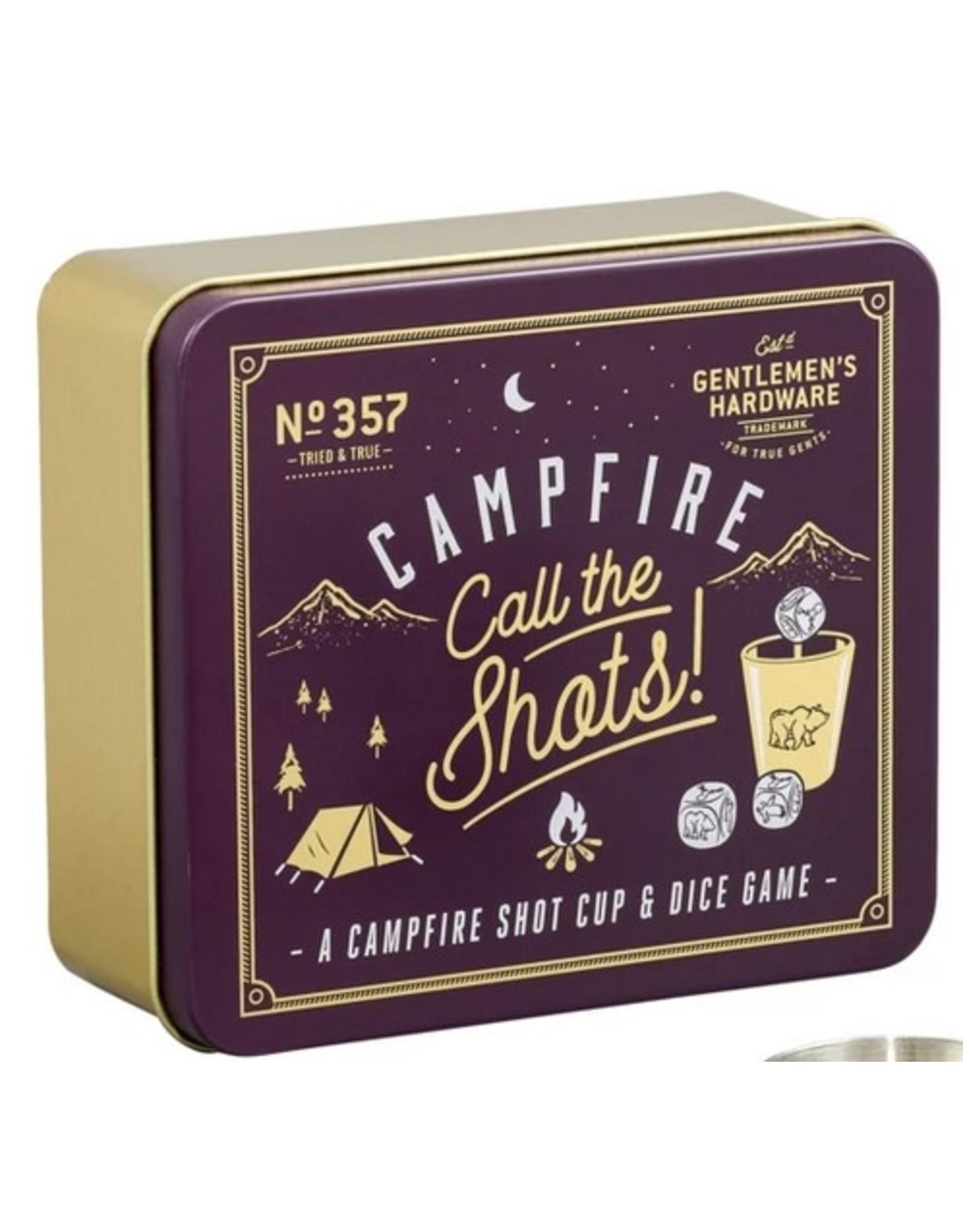 Gentlemen's Hardware Campfire Call The Shots Game