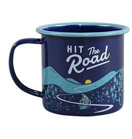 Gentlemen's Hardware Enamel Mug - Hit the Road 11 fl.oz / 325 ml