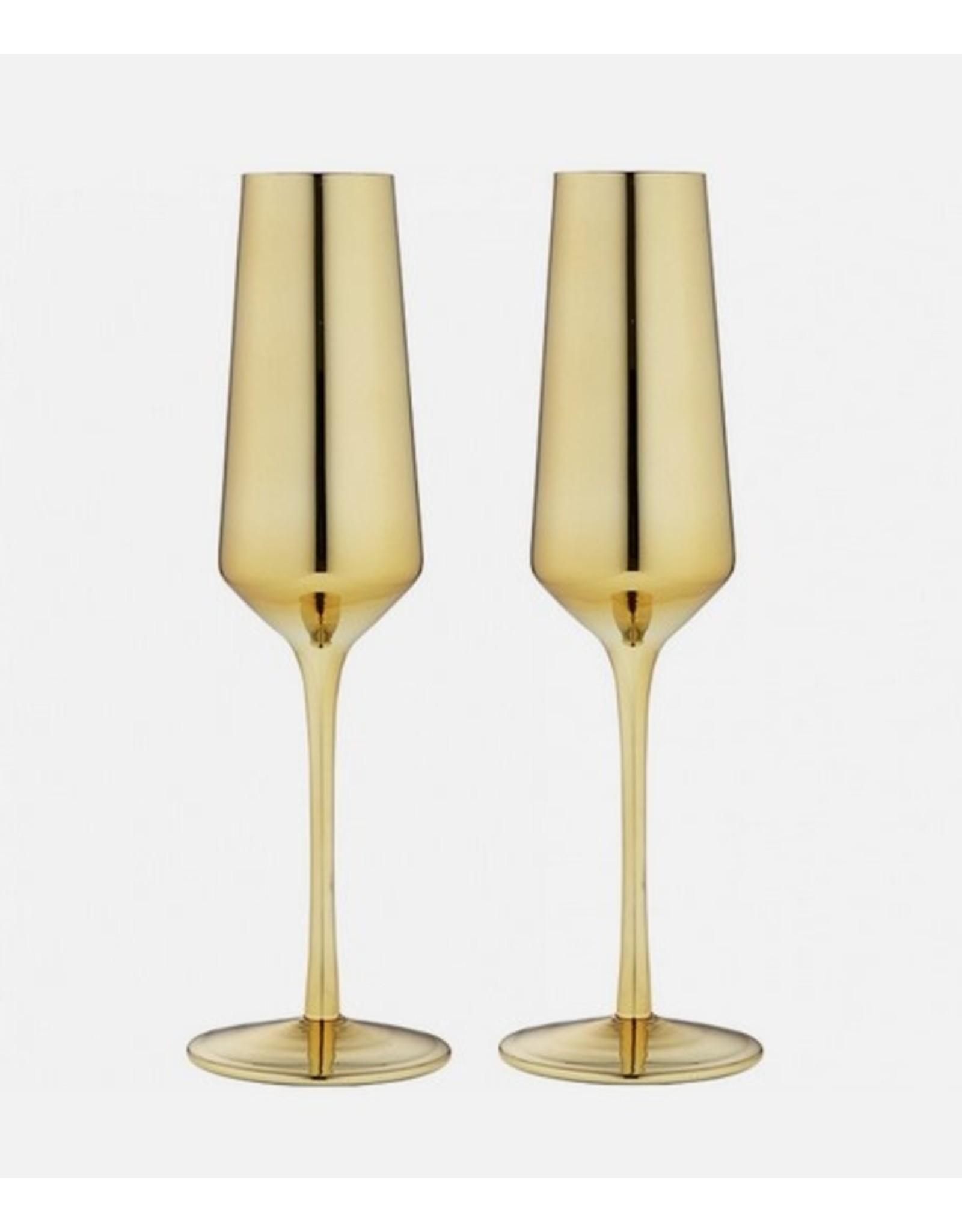 Tempa Tempa Aurora Champagne Glasses Set of 2