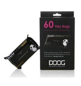 DOOG DOOG Pick up Bags 3 packs of 20