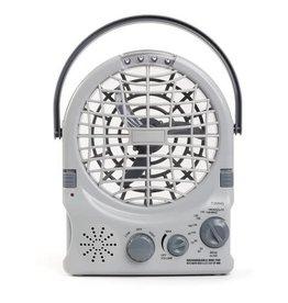 Companion Rechargable Fan with Radio