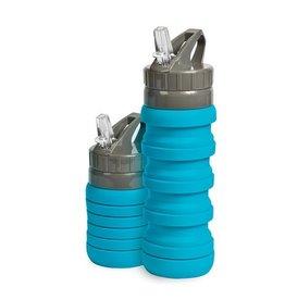 Popup Compact Bottle 500ml Aqua